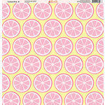 Ella and Viv Paper Company - Tickled Pink Patterns Collection - 12 x 12 Paper - Eight