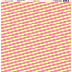 Ella and Viv Paper Company - Tickled Pink Patterns Collection - 12 x 12 Paper - Nine