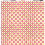 Ella and Viv Paper Company - Tickled Pink Patterns Collection - 12 x 12 Paper - Ten