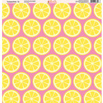 Ella and Viv Paper Company - Tickled Pink Patterns Collection - 12 x 12 Paper - Twelve