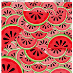 Ella and Viv Paper Company - Watermelon Fresca Collection - 12 x 12 Paper - Two