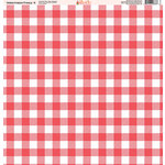 Ella and Viv Paper Company - Watermelon Fresca Collection - 12 x 12 Paper - Four