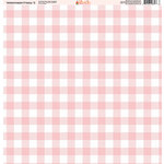 Ella and Viv Paper Company - Watermelon Fresca Collection - 12 x 12 Paper - Five