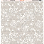 Ella and Viv Paper Company - Wedded Bliss Collection - 12 x 12 Paper - One