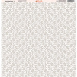 Ella and Viv Paper Company - Wedded Bliss Collection - 12 x 12 Paper - Three