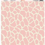 Ella and Viv Paper Company - Wild Pink Collection - 12 x 12 Paper - Seven