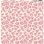 Ella and Viv Paper Company - Wild Pink Collection - 12 x 12 Paper - Twelve