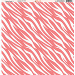 Ella and Viv Paper Company - Zebra Party Collection - 12 x 12 Paper - One