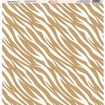 Ella and Viv Paper Company - Zebra Party Collection - 12 x 12 Paper - Two