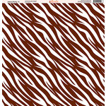 Ella and Viv Paper Company - Zebra Party Collection - 12 x 12 Paper - Four