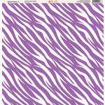 Ella and Viv Paper Company - Zebra Party Collection - 12 x 12 Paper - Five