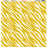 Ella and Viv Paper Company - Zebra Party Collection - 12 x 12 Paper - Six