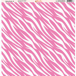 Ella and Viv Paper Company - Zebra Party Collection - 12 x 12 Paper - Eight