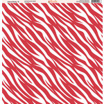 Ella and Viv Paper Company - Zebra Party Collection - 12 x 12 Paper - Nine