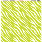 Ella and Viv Paper Company - Zebra Party Collection - 12 x 12 Paper - Ten