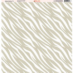Ella and Viv Paper Company - Zebra Party Collection - 12 x 12 Paper - Eleven