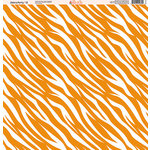 Ella and Viv Paper Company - Zebra Party Collection - 12 x 12 Paper - Twelve