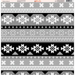 Ella and Viv Paper Company - Shades of Aztec Collection - 12 x 12 Paper - Two
