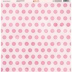 Ella and Viv Paper Company - Watercolor Kisses Collection - 12 x 12 Paper - Four