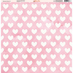 Ella and Viv Paper Company - Watercolor Kisses Collection - 12 x 12 Paper - Eleven
