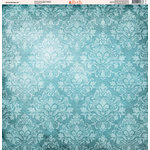 Ella and Viv Paper Company - Ocean Wonders Collection - 12 x 12 Paper - Nine