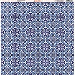 Ella and Viv Paper Company - Deep Blue Mosaic Collection - 12 x 12 Paper - Eight