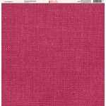 Ella and Viv Paper Company - Linen Brights Collection - 12 x 12 Paper - One