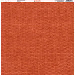Ella and Viv Paper Company - Linen Brights Collection - 12 x 12 Paper - Three