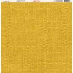 Ella and Viv Paper Company - Linen Brights Collection - 12 x 12 Paper - Five