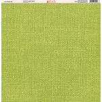 Ella and Viv Paper Company - Linen Brights Collection - 12 x 12 Paper - Six