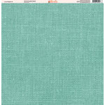 Ella and Viv Paper Company - Linen Brights Collection - 12 x 12 Paper - Eight