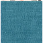 Ella and Viv Paper Company - Linen Brights Collection - 12 x 12 Paper - Ten