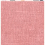 Ella and Viv Paper Company - Linen Brights Collection - 12 x 12 Paper - Twelve