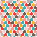 Ella and Viv Paper Company - Because I'm Happy Collection - 12 x 12 Paper - Three