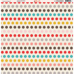 Ella and Viv Paper Company - Because I'm Happy Collection - 12 x 12 Paper - Five