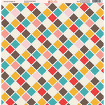 Ella and Viv Paper Company - Because I'm Happy Collection - 12 x 12 Paper - Six