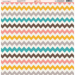 Ella and Viv Paper Company - Because I'm Happy Collection - 12 x 12 Paper - Seven