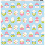 Ella and Viv Paper Company - Easter Fun Collection - 12 x 12 Paper - Two