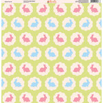 Ella and Viv Paper Company - Easter Fun Collection - 12 x 12 Paper - Three