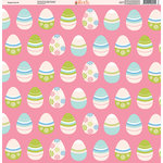 Ella and Viv Paper Company - Easter Fun Collection - 12 x 12 Paper - Five