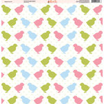 Ella and Viv Paper Company - Easter Fun Collection - 12 x 12 Paper - Eleven