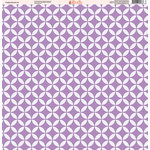 Ella and Viv Paper Company - Purple Passion Collection - 12 x 12 Paper - Four