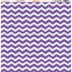 Ella and Viv Paper Company - Purple Passion Collection - 12 x 12 Paper - Five