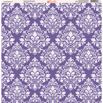Ella and Viv Paper Company - Purple Passion Collection - 12 x 12 Paper - Seven