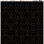 Ella and Viv Paper Company - Magical Dots and Damask Collection - 12 x 12 Paper - Eight