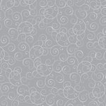 Reminisce - Graduation Collection - 12 x 12 Foil Paper - Graduation Silver Swirl