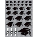Reminisce - Graduation Collection - 3 Dimensional Stickers - Grad Hats