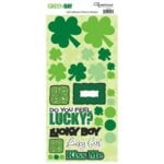 Reminisce - Green Day - St. Patrick's Day - Cardstock Stickers - Green Day