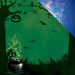Reminisce - Goosebumps Collection - Halloween - 12 x 12 Double Sided Paper - Goosebumps