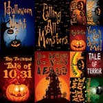 Reminisce - Goosebumps Collection - Halloween - 12 x 12 Cardstock Stickers - Poster